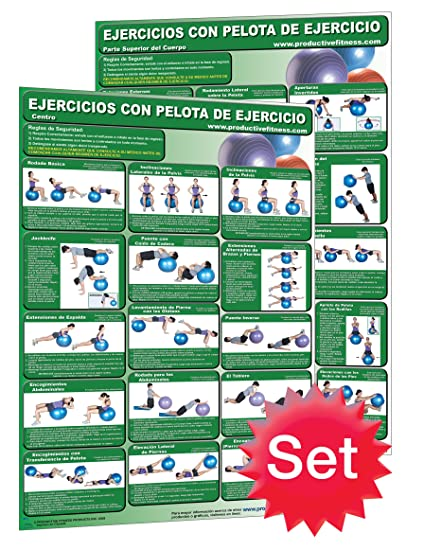 Ejercicios con pelota de ejercicio - Centro- y & Ejercicios con pelota de ejercicio -