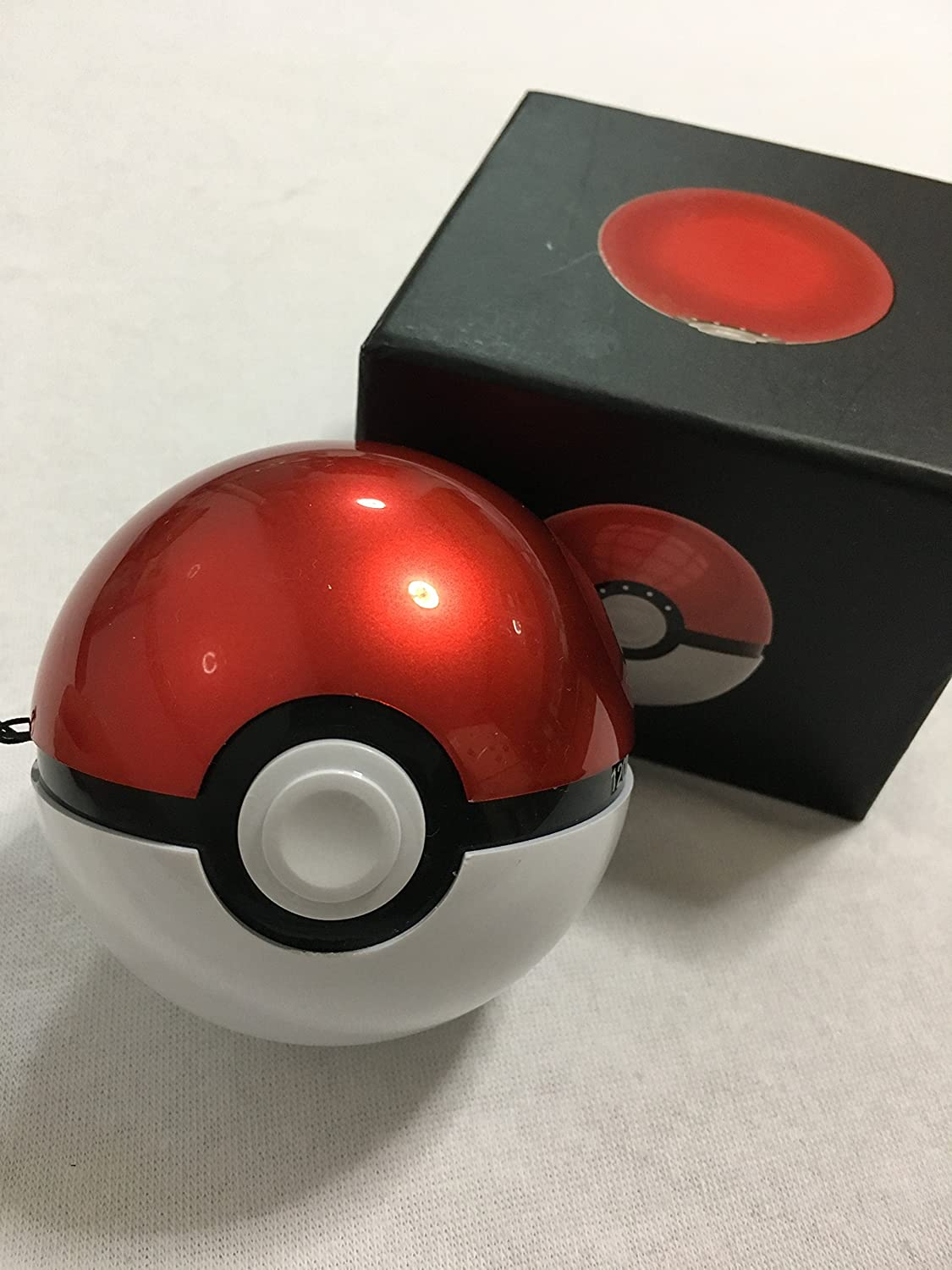 Pokeball Power Bank 3rd Generation Charger Powerbank Pokemon 12000mah Senter Flashlight Samsung Cell P46 Digital Electronics