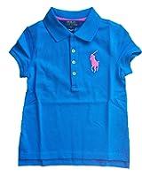 Ralph Lauren Girls Stretch Cotton Polo Shirt