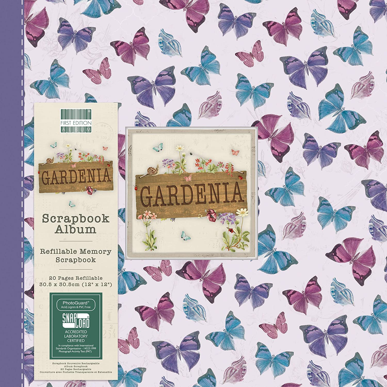 Snap Load First Edition Gardenia Scrapbook Album 12x12 Multicolour 1