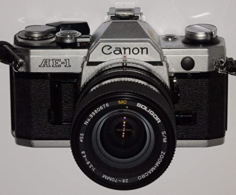 Canon AE de 1 AE1 incl. Lente Mc Erno Auto Zoom 35 - 140 mm 1: 3.8 ...