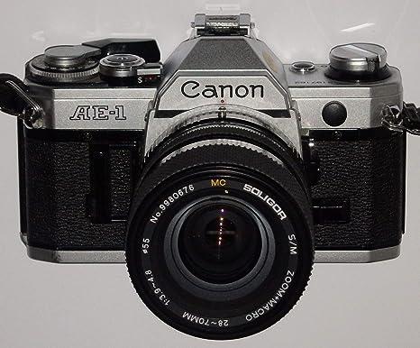 Canon AE de 1 AE1 incl. Lente Mc Erno Auto Zoom 35 – 140 mm 1: 3.8 ...