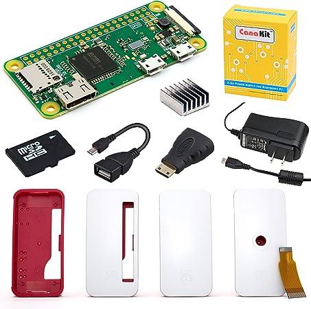 Raspberry Pi Zero W  with 16gb micro sd card with raspbian new free shipping