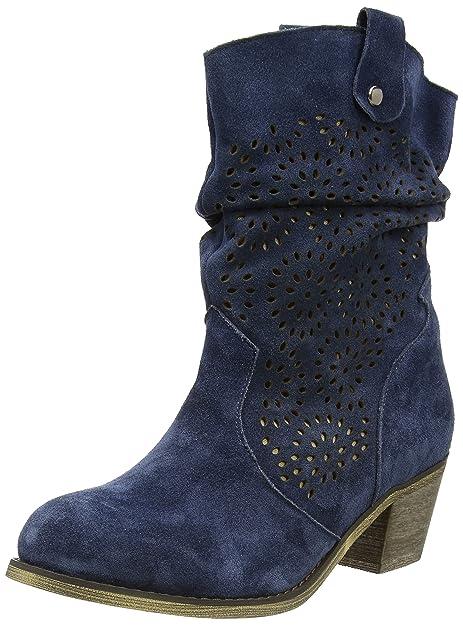 Hirschkogel 1121551, Zapatillas de Estar por casa para Mujer, Azul-Blau (Navy 168), 39 EU: Amazon.es: Zapatos y complementos