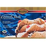 Bellino Cannoli Shells, 3 Ounce Boxes, 6 Count Shells (Pack of 12)
