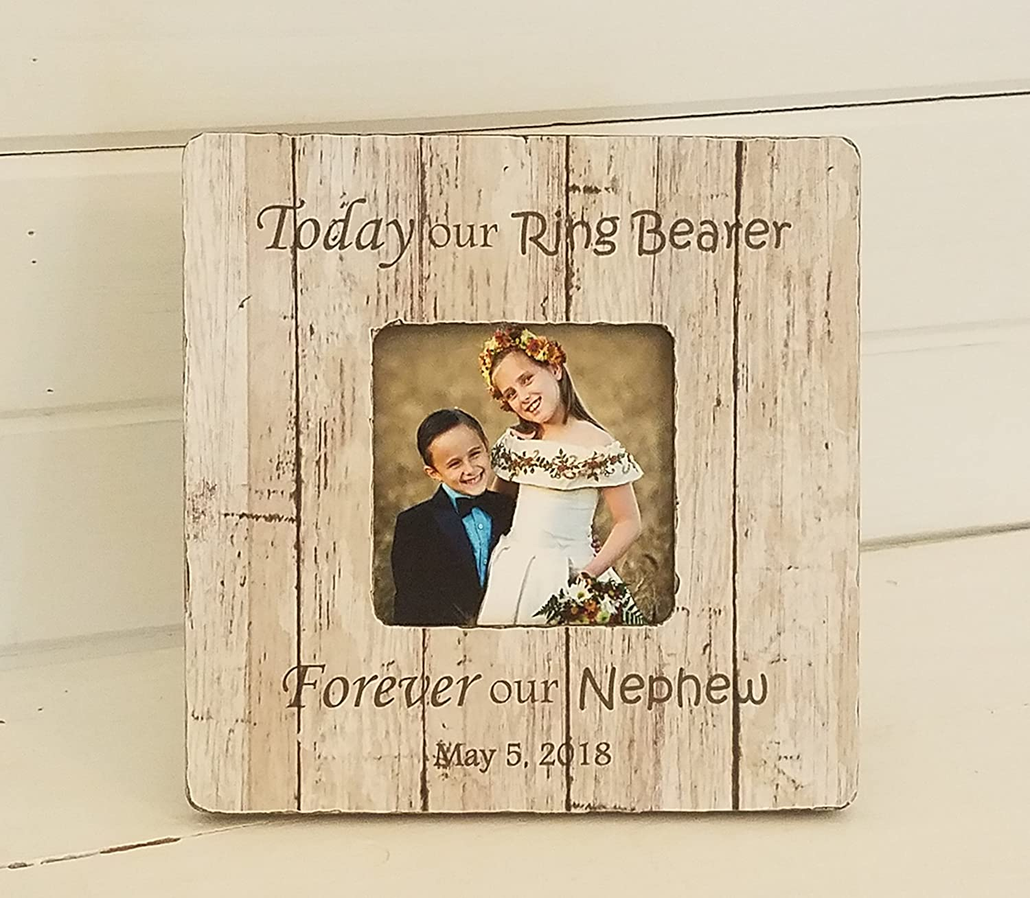 Amazon.com: personalized ring bearer gifts - flower girl gift ideas ...