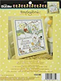 Bucilla Counted Cross Stitch Birth Record Kit, 10 by 13-Inch, 46375 Mary Engelbreit Classic Mother Goose