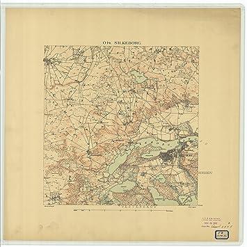 Amazon.com: Vintography c.1876 18 x 24 Reproduced Map Nautical Image ...
