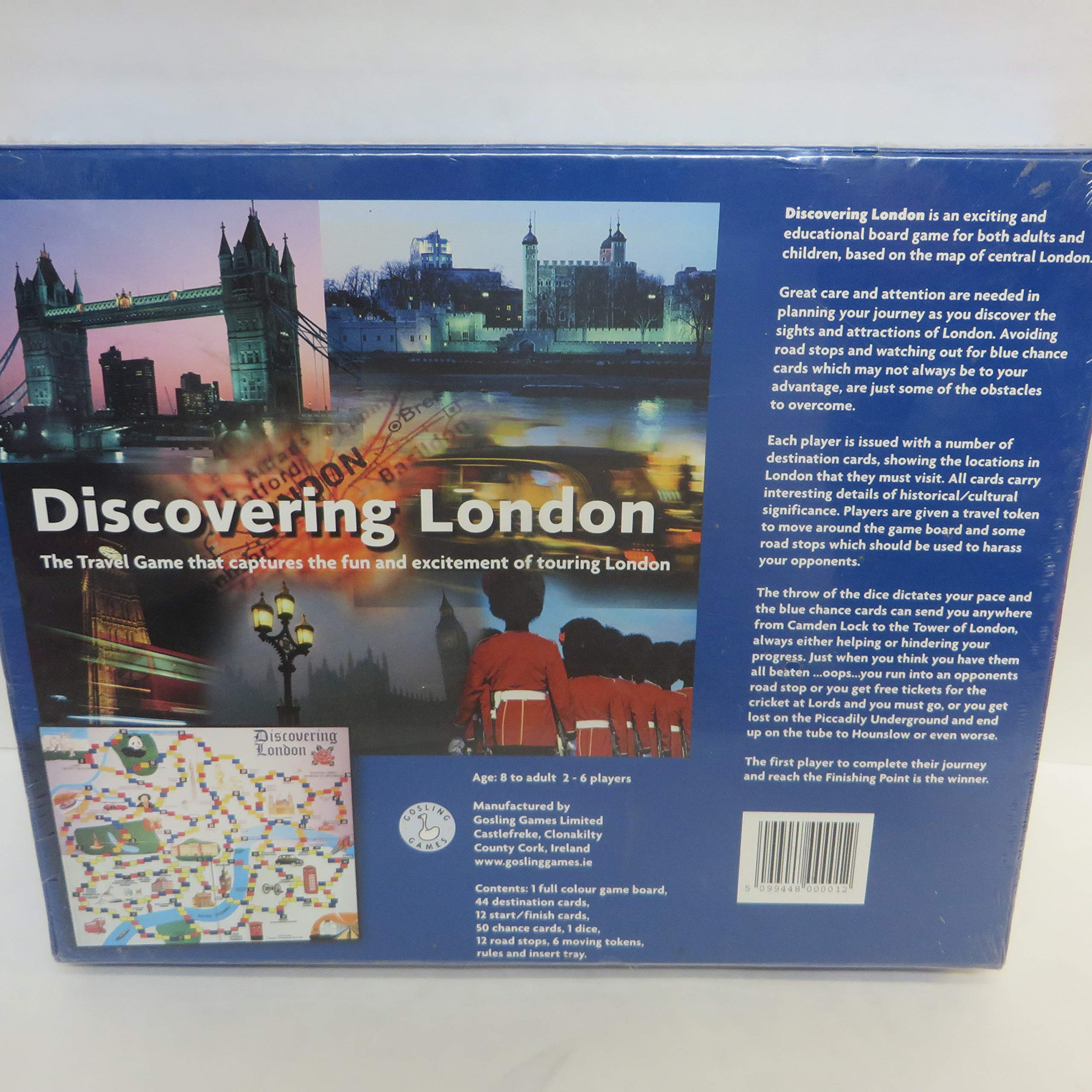 Discovering London: The Travel Game that Captures the Fun and Excitement of Touring London by Gosling Games Ltd. (Image #2)