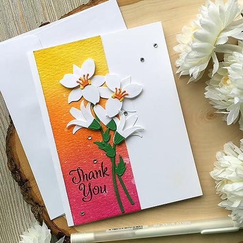 Thank You Card Thank You So Very Much Greeting Card Handmade Card Thanks Card Polka Dots