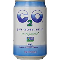 C2O Pure Coconut Water, 10.5 Fluid Ounce (Pack of 24)