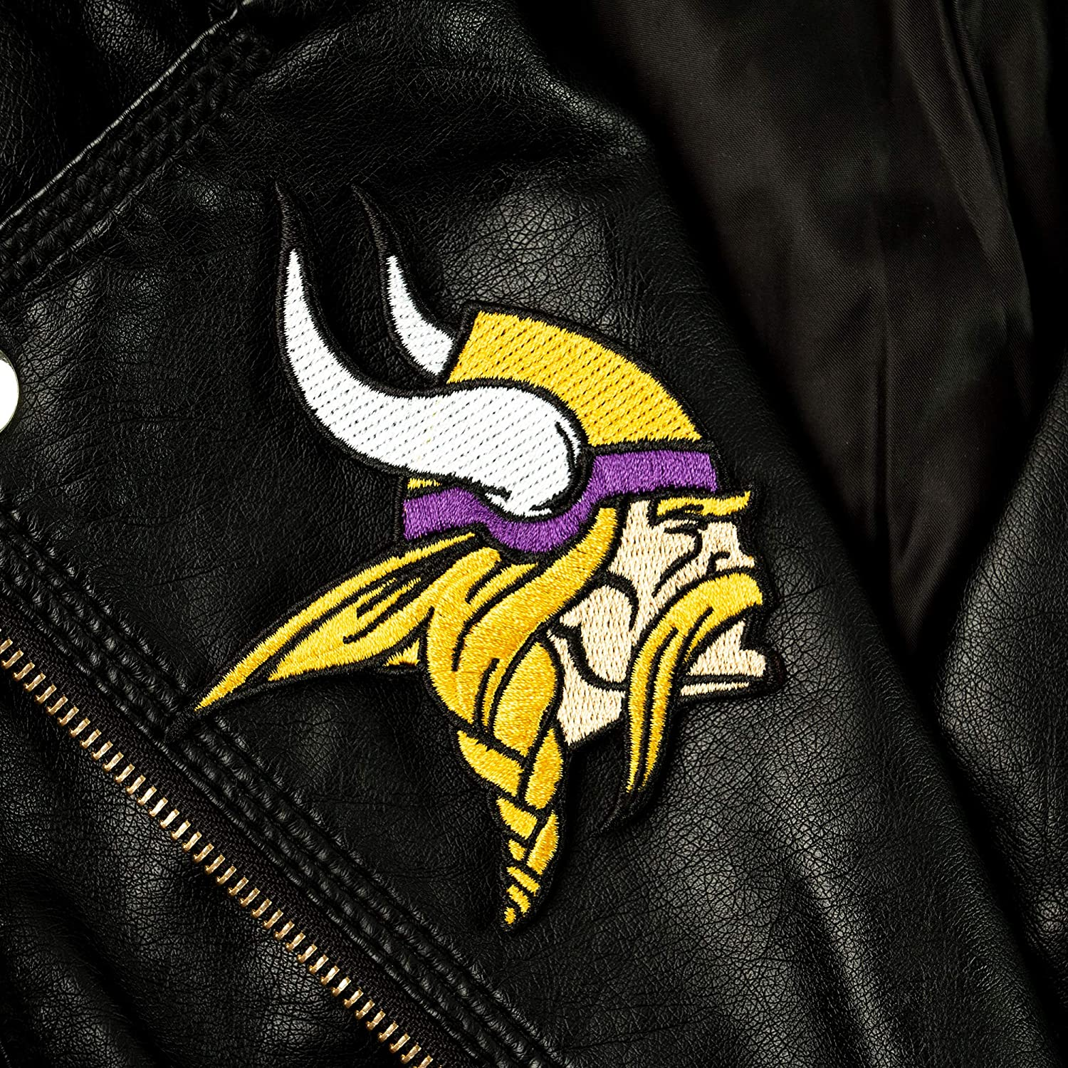 VIKINGS iron on embroidered EMBROIDERY patches patch SIZE 2.8 X 2.2 INCHES FOOTBALL MN