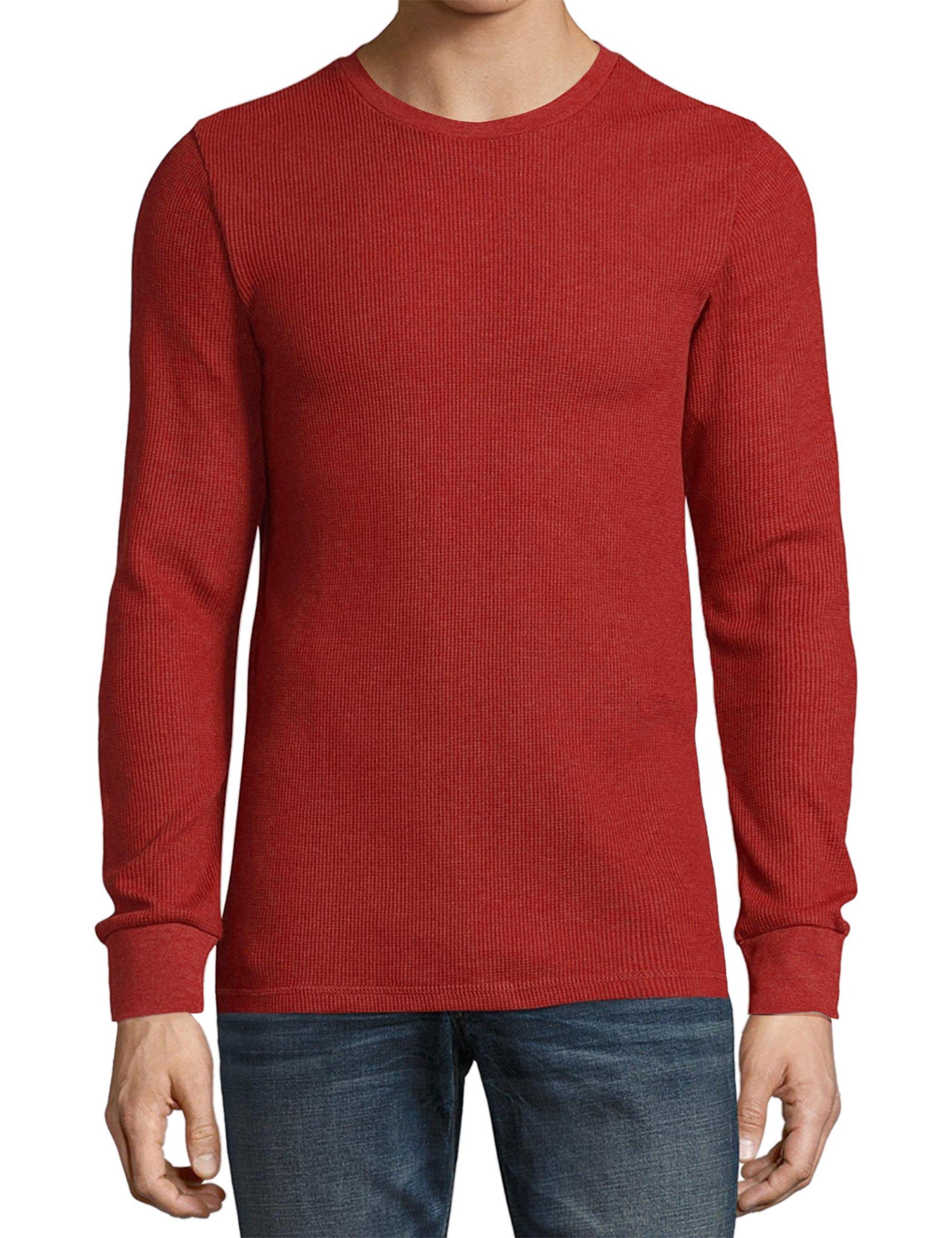 KS Mens Thermal T Shirts (Medium/ ks23_red) by Ma Croix