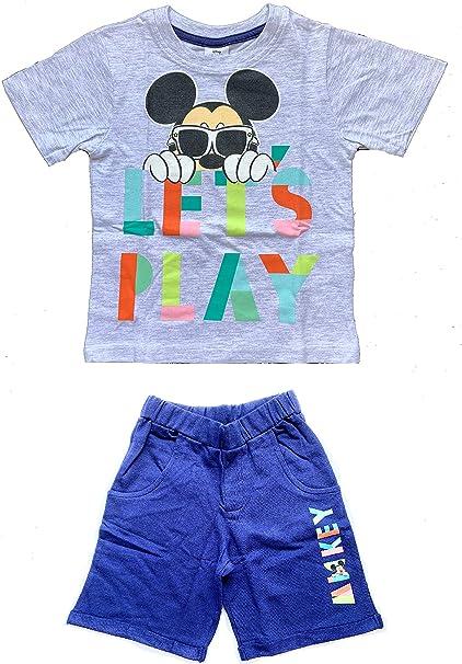 Mickey Mouse Bambino Maglietta e Pantaloncini