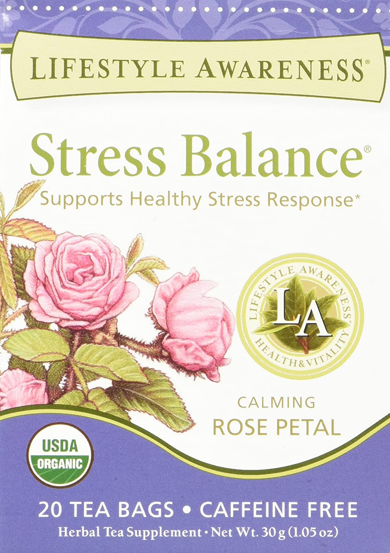 Caffeine Free Stress Balance Tea,