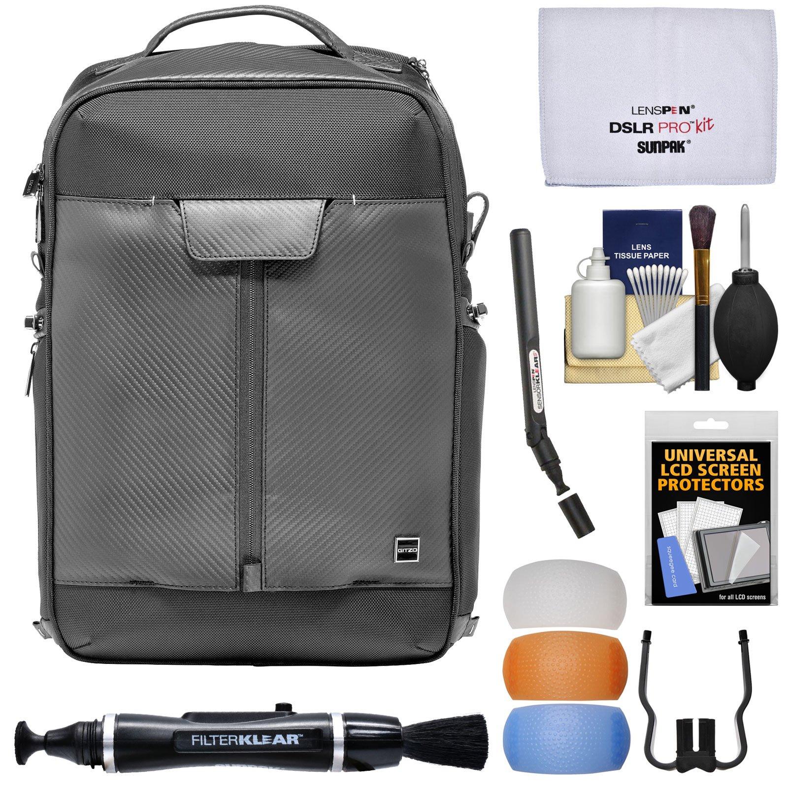 Gitzo Century Traveler Digital SLR Camera Backpack with Flash Diffuser Set + Lens & Sensor Cleaning Pens + Kit by Gitzo (Image #1)