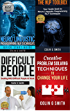NLP Books 4 in 1 Box Set: Neuro Linguistic Programming NLP Techniques Guide Books for More Self Confidence & Success and Improve Your Communication Skills with Difficult People (English Edition)