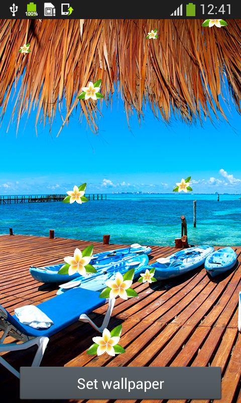 Beach Wallpaper Android App