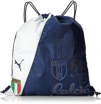 1ce010e51be3 Puma Italia Fan Wear Gym Bag - Peacoat Light Grey Heather