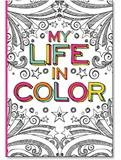 Amazon.com: Life In Color - A Coloring Journal (9781563835544 ...