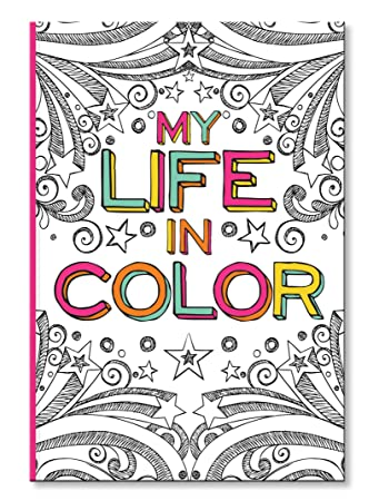 cr gibson coloring journal book 160 page coloring book for adults with space for journaling