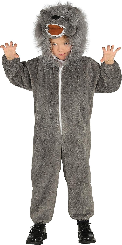 Guirca- Disfraz lobo, Talla 3-4 años (87490.0): Amazon.es ...