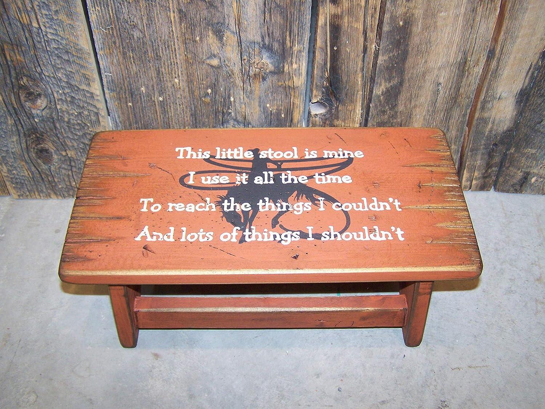 Toddler step stool purple Lavender Nursery decor Wooden girls nursery baby shower Bathroom stool personaized gift