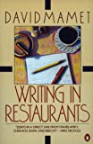 Writing in Restaurants