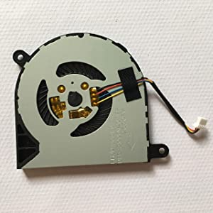 HK-part Replacement Fan for Dell Inspiron 13 5368 5000 Inspiron 15 7579 7569 series Cpu Cooling Fan 4-Wire 4-Pin DP/N CN-031TPT