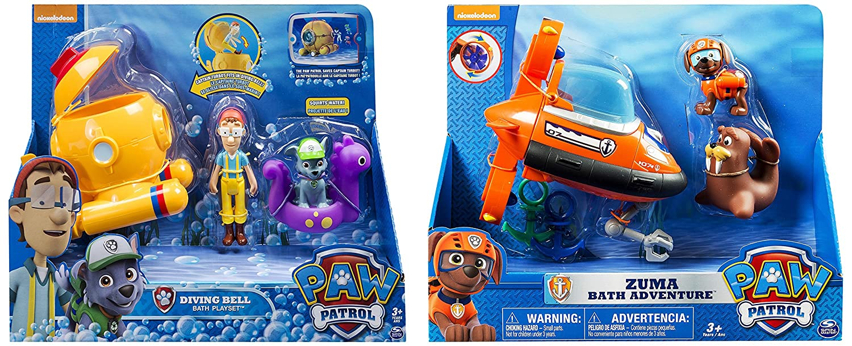 Paw Patrol ZumaS Bath Playset - Vehículo Miniatura, Modelos Surtidos: Spin Master: Amazon.es: Juguetes y juegos