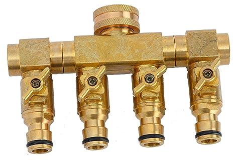 UPP Wasserverteiler 4 Wege für 1/2