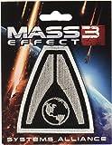 Mass Effect System Alliance Parche Bordado