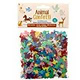 Animal Shaped Confetti By Confetti Kings | Multicolored | In 8 Different Animal Shapes | Great For Parties, Arts & Crafts, Festivals | 1.75oz/50g