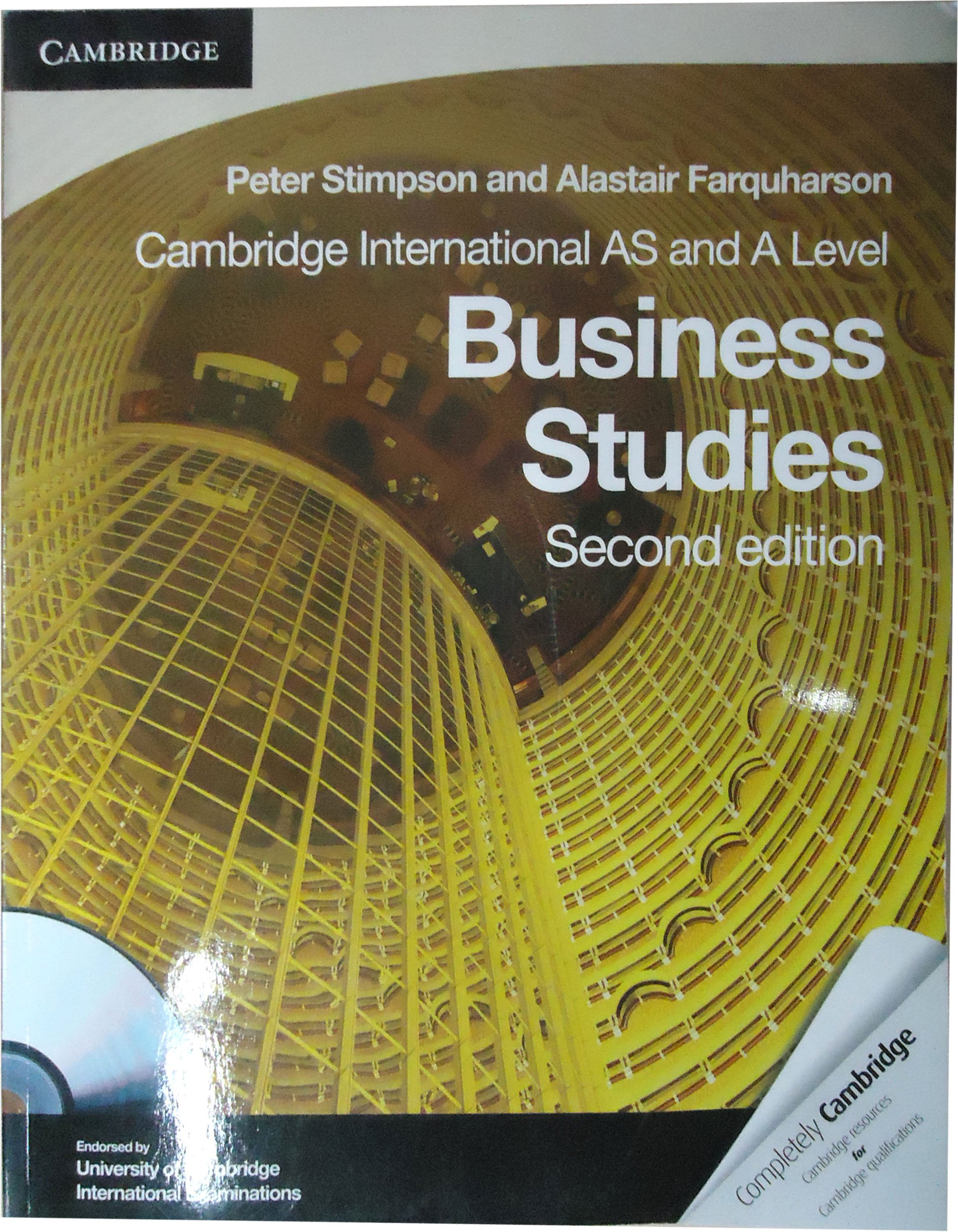 Cambridge international as and a level business studies coursebook cambridge international as and a level business studies coursebook with cd rom cambridge international examinations peter stimpson alastair farquharson fandeluxe