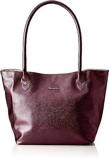 Tamaris - Louise Shopping Bag/pack 4 Pcs, Bolsos maletín Mujer, Rot (Vino), 17.5x28x28 cm (B x H T): Amazon.es: Zapatos y complementos