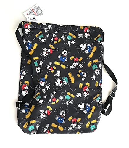 03a08e5d7dc Image Unavailable. Image not available for. Color  Disney Parks Mickey Mouse  Cinch Sack Drawstring Bag