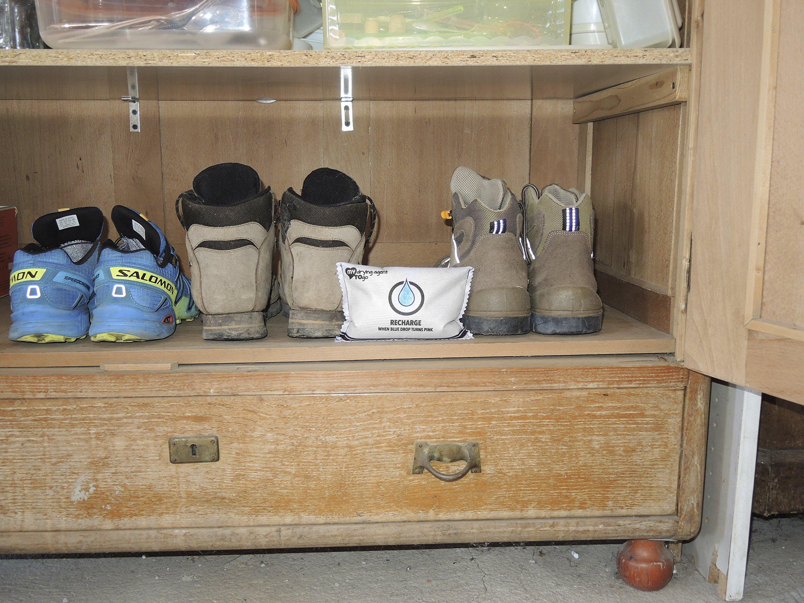 Deumidificatore, assorbi umidità riutilizzabile, ricaricabile MY drying agent TO go. Un anti-muffa che elimina anche i cattivi odori dal tuo camper, auto-vettura, barca, cantina, armadio, scarpe