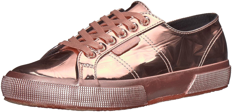 Superga Women's 2750 (6.5 Synleadiamondmirrorw Sneaker B0777SZTD7 37 M EU (6.5 2750 US)|Gold Glitter fc9dba