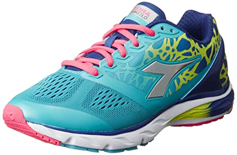 Diadora Zapatillas Running Zapatillas Jogging Mujer Mythos blushield W Blue Atoll/DP UL Zapatillas,