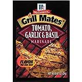 McCormick Grill Mates Tomato, Garlic & Basil Marinade, 0.87 oz