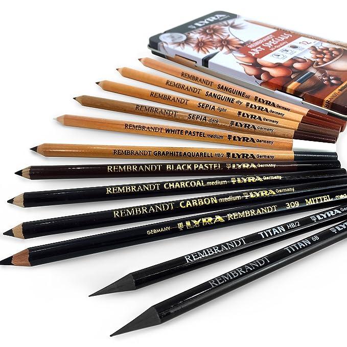 Lyra Rembrandt Art Specials Cizim Seti 12li Metal Kutu Karin Art