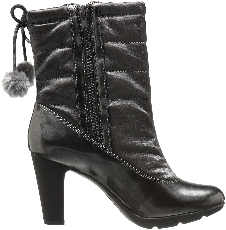 Anne Klein Women's Xhale Fabric Winter Boot B01LZHEXDE 6.5 B(M) US|Pewter