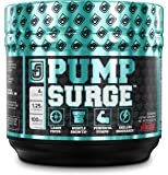 PUMPSURGE Caffeine-Free Pump & Nootropic Pre Workout Supplement, Non Stimulant Preworkout Powder & Nitric Oxide Booster,20 Servings, Cherry Limeade, 8.8 OZ