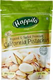 HappiloPremium Californian Roasted and Salted Pistachios, 200g