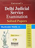 Delhi Judicial Service Examination (Solved Papers up to 2014)