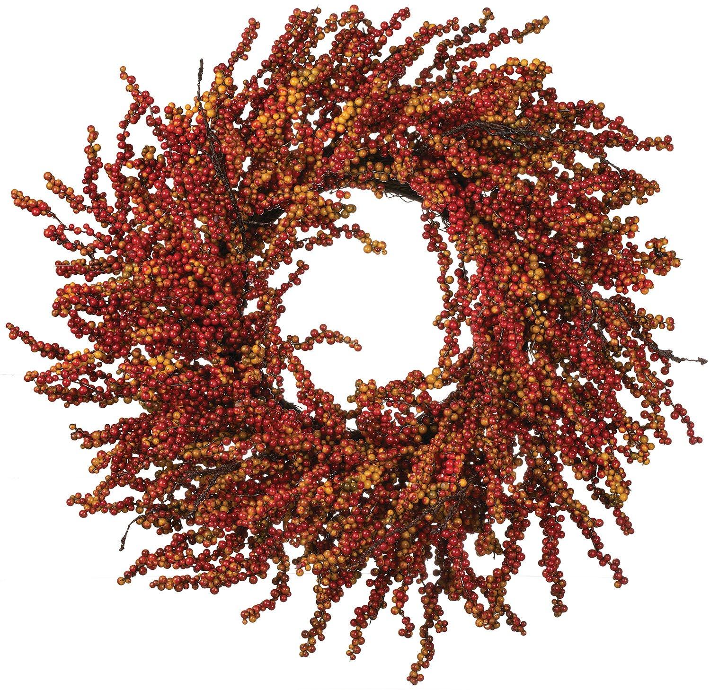 27-Inch-Fall-Berry-Wreath-on-Twig-Base