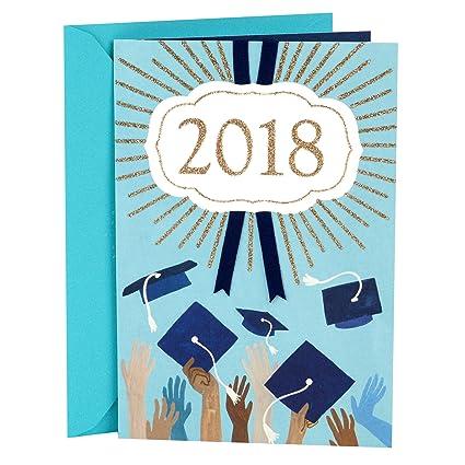 amazon com hallmark mahogany graduation greeting card graduation