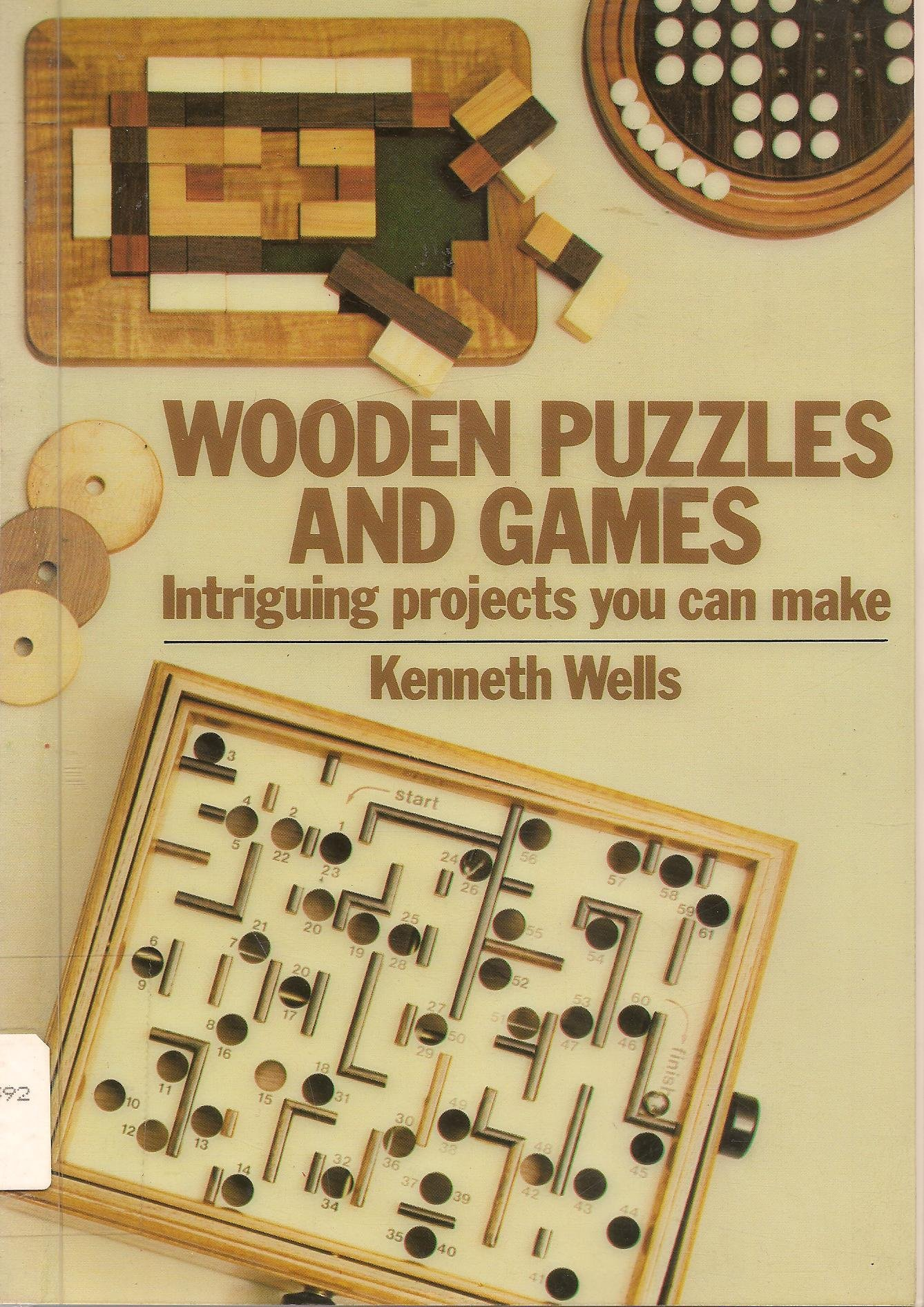 Wooden Puzzles Games Kenneth Wells product image