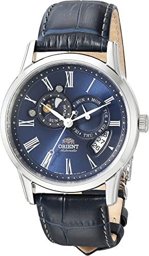 Orient watch with sun and moon phase
