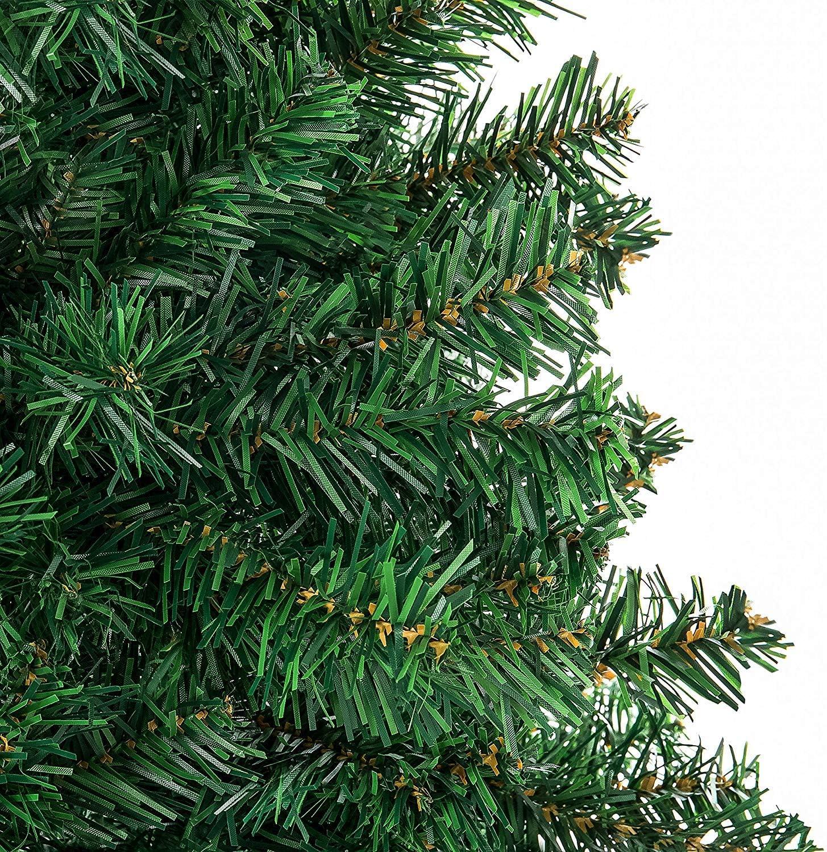 gr/ün, 150cm//500 Spitzen YOURFUN Weihnachtsbaum Hochwertiger k/ünstlicher gr/ün 150cm 500 Spitzen mit Metallst/änder schwer entflammbar Minutenschneller Aufbau mit Klappsystem